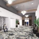 Bay Pointe Woods Hallway