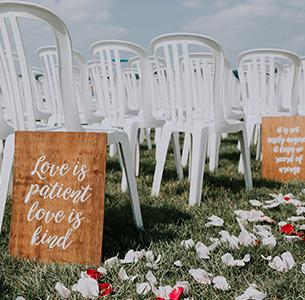 Bay Pointe Lakefront Wedding
