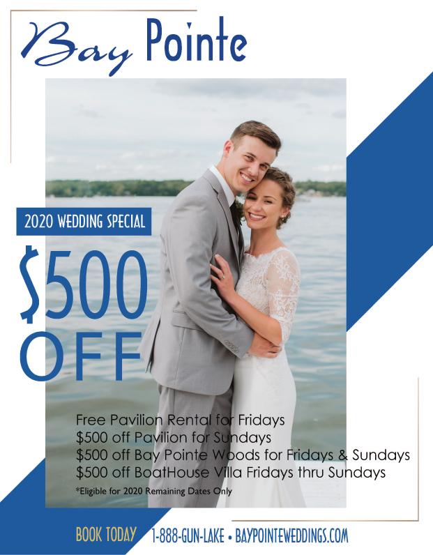 Bay Pointe Bridal Discount