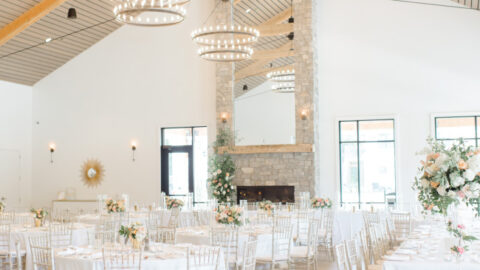 An image of a Michigan wedding reception space.